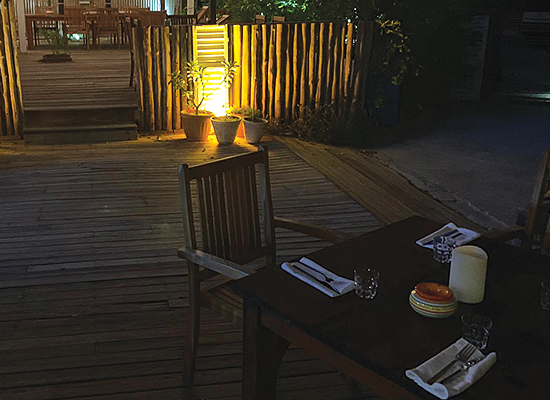 sorobon beach resort restaurant outdoors picture